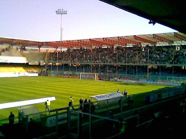 Curva Cesena contro Modena
