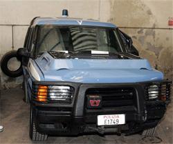 Camionetta polizia catania