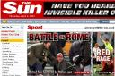 Polizia Man Utd a Roma