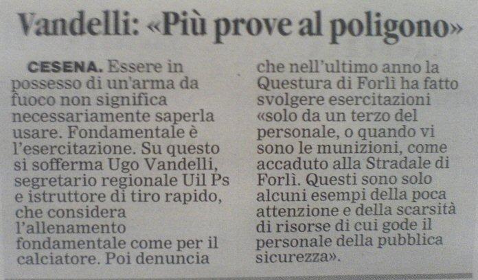 Corriere Romagna venerdì 23 novembre 2007